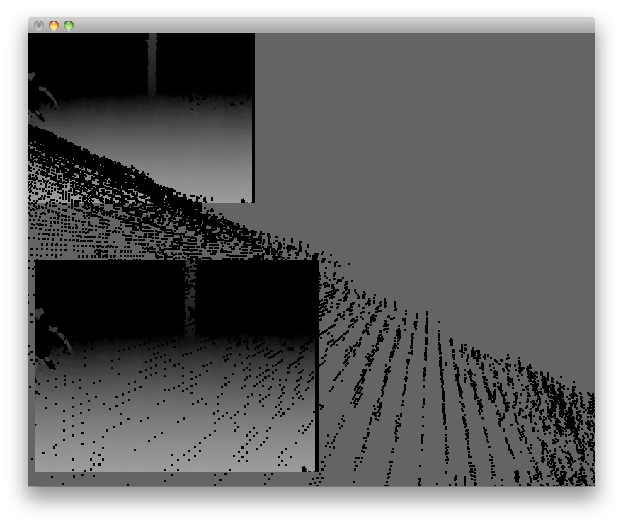 Smooth[er] point cloud with ofxKinect? - beginners