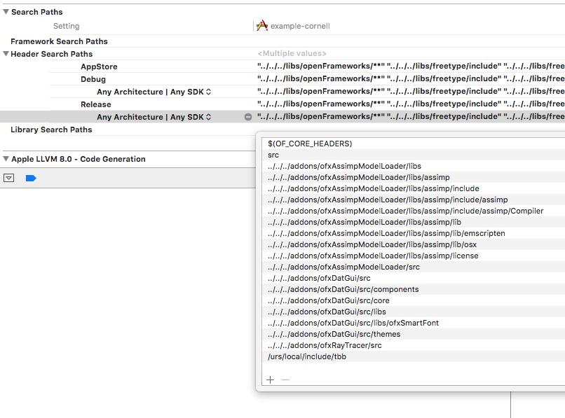 Using TBB on mac OS - advanced - openFrameworks