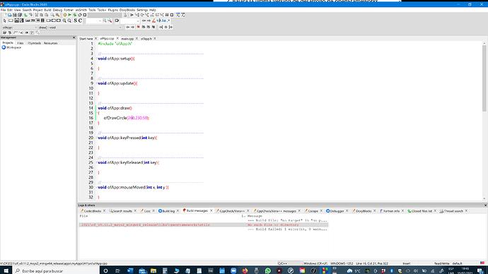 Code Block Error 15 - 07 - 2021