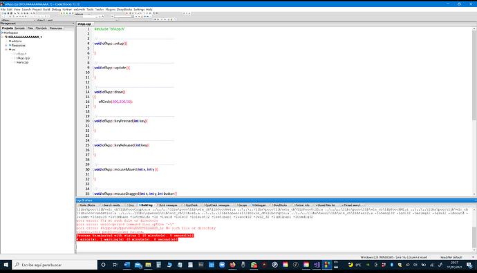 Error en Code Block 13 - 20