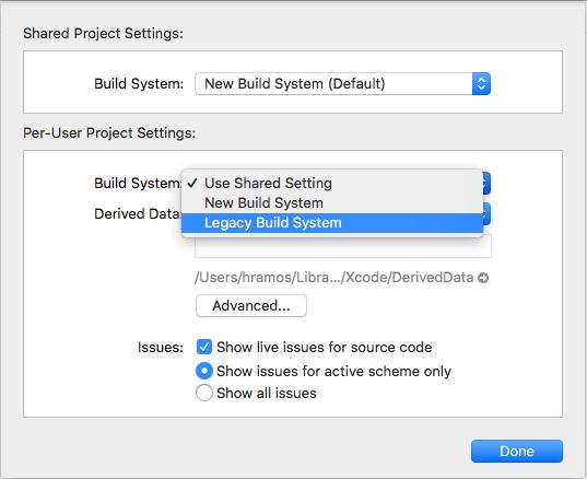 Xcode 10 / mojave issues - bugs, errors - openFrameworks