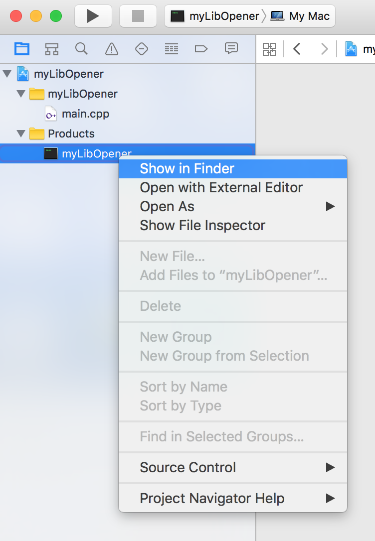 Can I change empty example xcode project output to  dylib