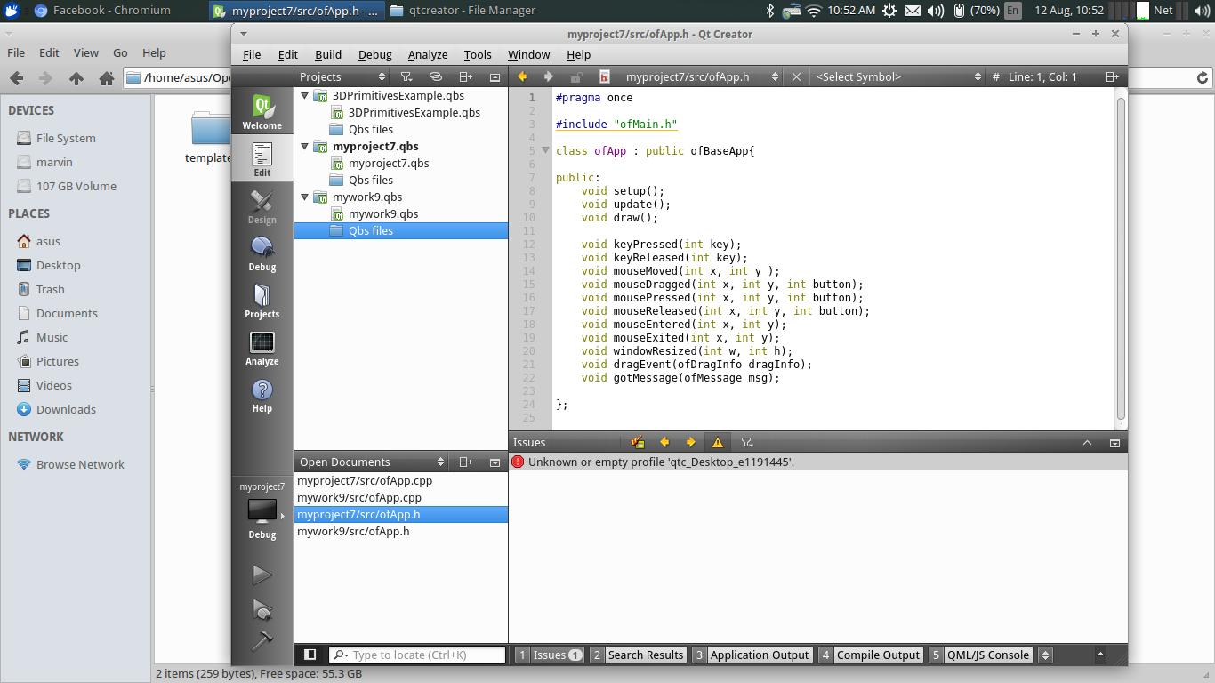 Unable to set up QT Creator on Ubuntu 64bit machine