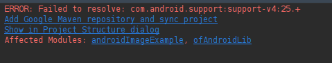 of_android_error