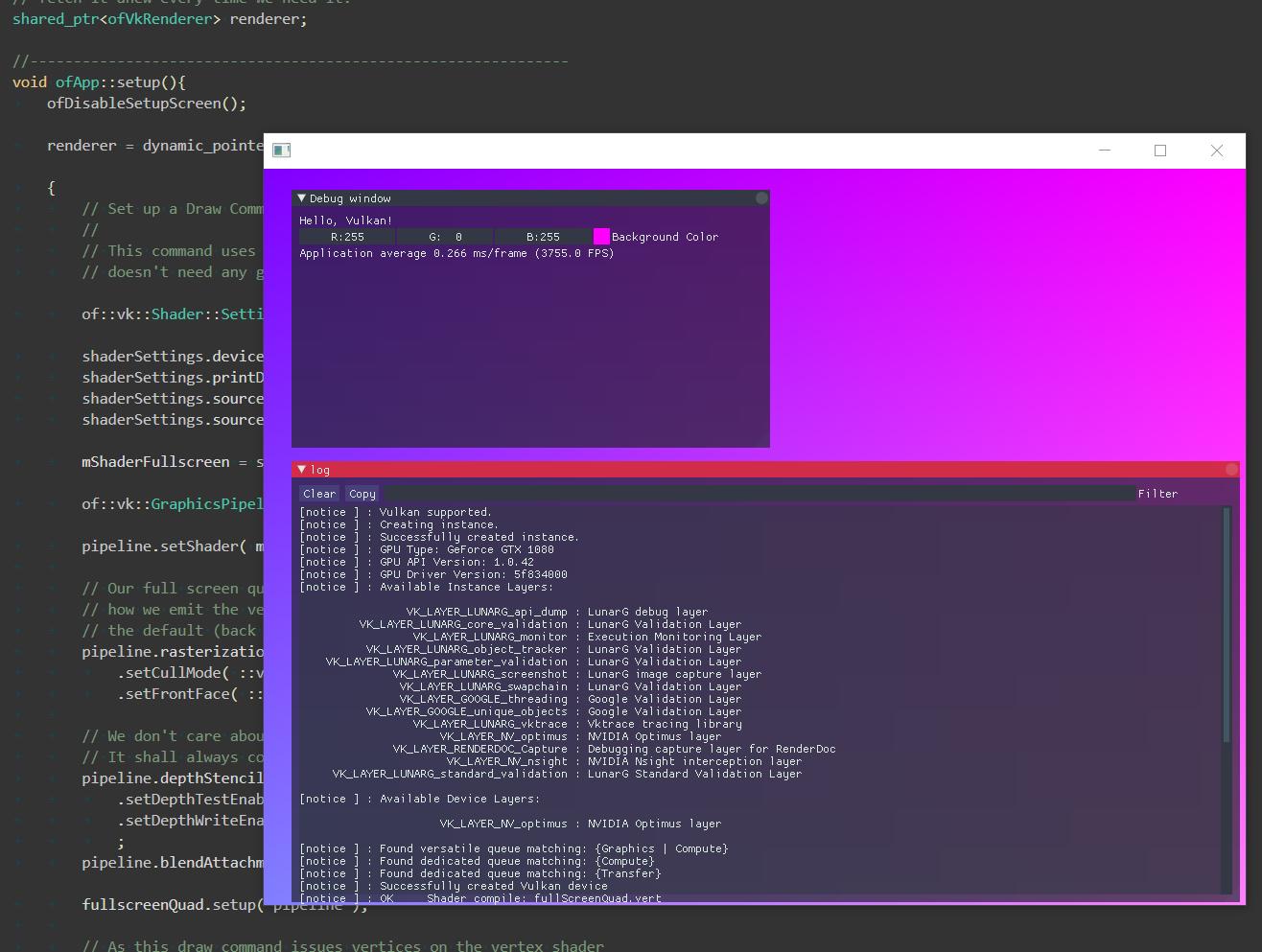 Vulkan Renderer - OF development - openFrameworks